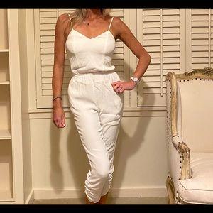 Lovers + Friends white Farrah jumpsuit